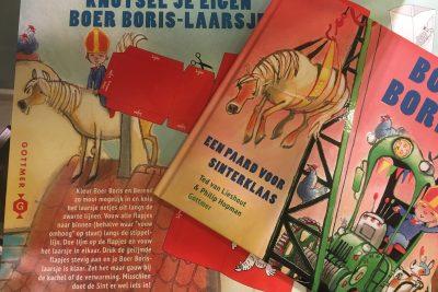 Voorleesmiddag Boer Boris en Laarsje knutselen
