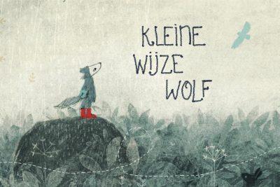 Kleine wijze wolf