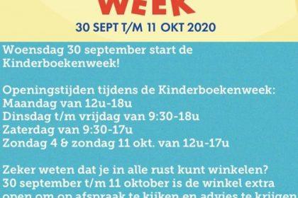 Kinderboekenweek ook in de Herfstvakantie!