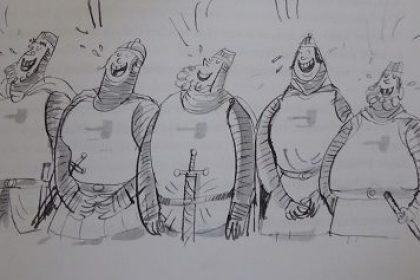 Ridders van hak