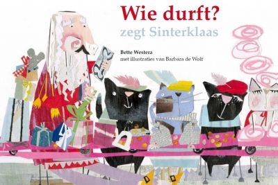 Boekpresentatie Wie durft? zegt Sinterklaas