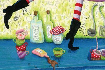 Marieke Nelissen tijdens de Kinderboekenweek