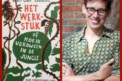 Simon van der Geest signeert